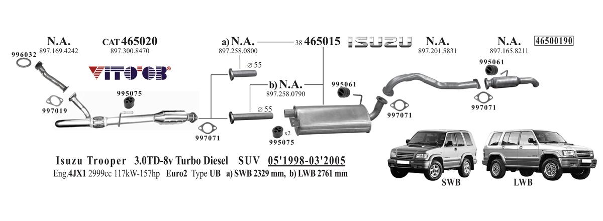 Vito03 com - exhausts esystems